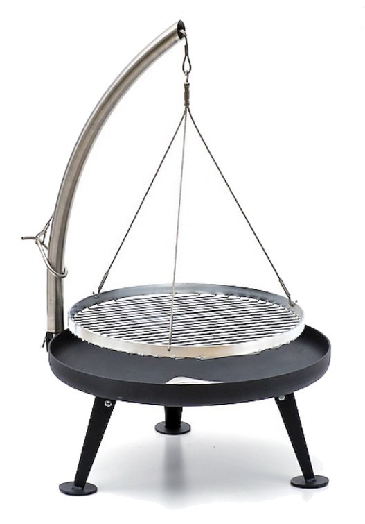 fire pit holzkohlegrill 60cm pulverbeschichtung grill shop sandwichmaker waffeleisen. Black Bedroom Furniture Sets. Home Design Ideas