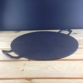 Netherton Griddle and Baking plate, 38cm, Black Spun Iron