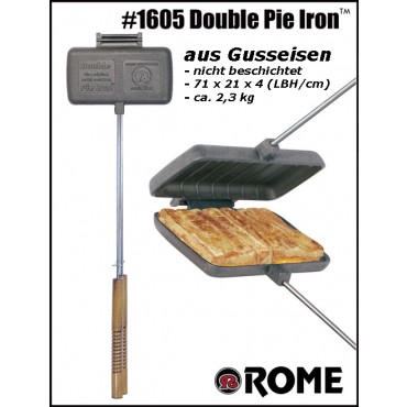 Rome Sandwichmaker 1605 for Campfires, double size