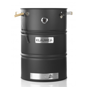 BBQ Barrel Premium by Klauwe, stainless steel, black