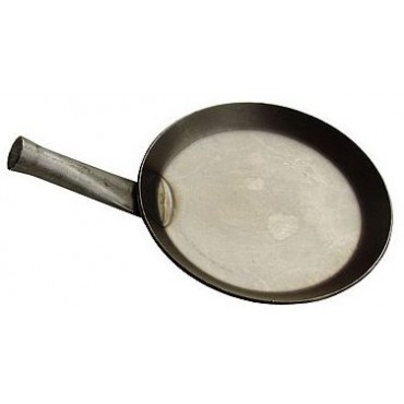Mini frying pan /children pan for the campfire 13 cm,idee & konzept, front