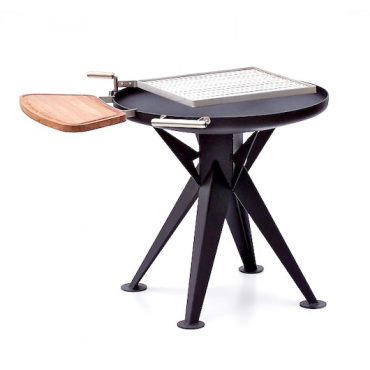 Bål Grill System Ø80cm with square Grid