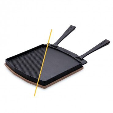 Ooni Dual-Sided Grizzler Plate, cast iron buy online