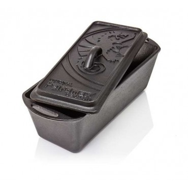Petromax Loaf Pan k4 with Lid, cast iron