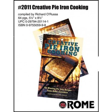 Rome Pie Iron Creative Recipe Book