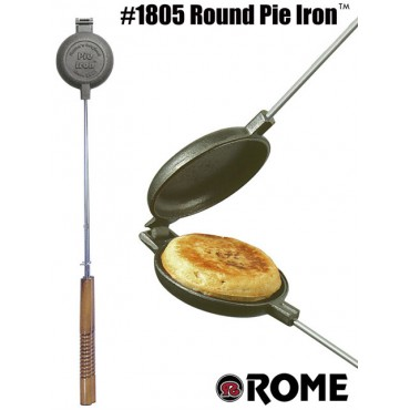 Rome Sandwichmaker 1805, australian Jaffle Style, round out of cast iron by Rome Industries