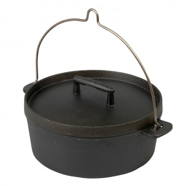 Dutch Oven (Fire Pot) out of cast iron by Skeppshult