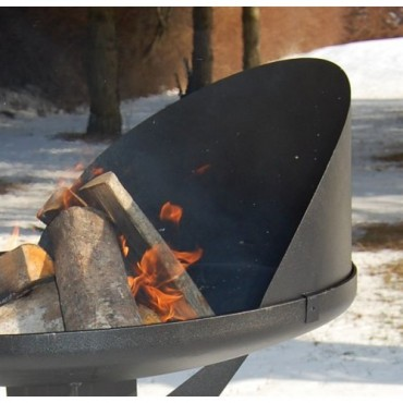 Nielsen Windshield for Bal Grill and Fire Pit