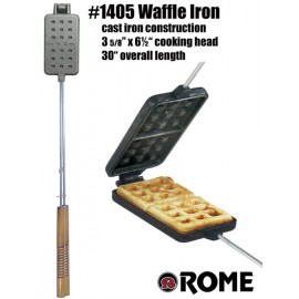 Waffle Iron, Classic, Rome Industries #1405 for Campfires