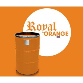 BBQ Barrel by BarrelQ XL, stainless steel, Royal Orange