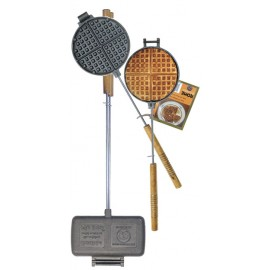 Rome Sandwichmaker Double & Waffle Iron Chuckwagon for Camp Fire