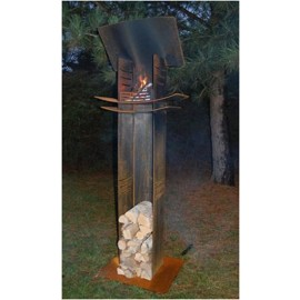 The Light Tower/ Fire Sculpture