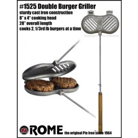 Rome Hamburger Griller, double