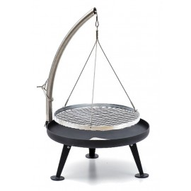 Nielsen Fire Pit Charcoal Grill 60cm (Protected Surface)