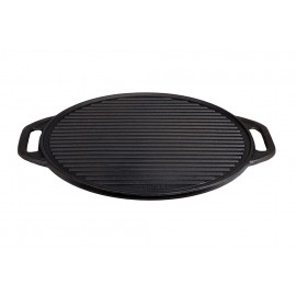 muurikka campfire Pan, cast iron, 42cm, two-sided usable