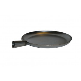 muurikka campfire frying pan, Steel, (without handle)