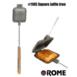 Sandwichmaker 1105, square, australian Jaffle Style, round out of cast iron by Rome Industries