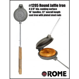 Sandwichmaker 1205 round out of cast iron by Rome Industries