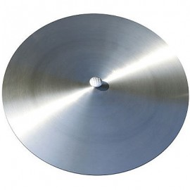 Stainless steel cover for fire bowl or grill, 125 cm, Ricon