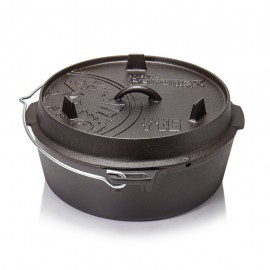 Petromax Dutch Oven ft6 without legs (plane bottom)