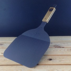 Netherton Foundry Baking / Pizza Peel, Spun Iron w. Oak Wooden Handle