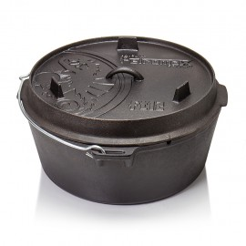 Petromax Dutch Oven ft12 without legs (plane bottom)