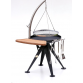 Bål Grill 60cmØ with hanger and round grid